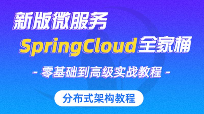 新版springcloud视频教程docker微服务