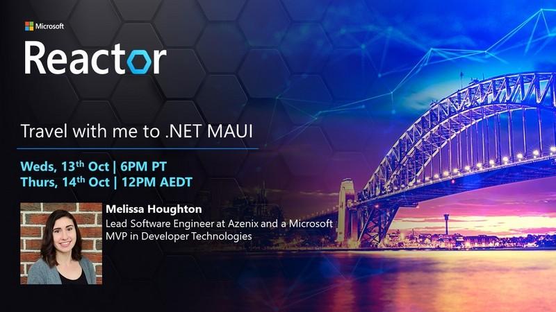 在线工作坊 | 和我一起学习 .NET MAUI