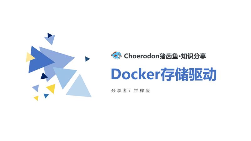 Docker存储驱动