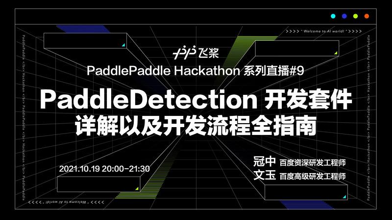 《硬核技术:PaddleDetection 开发套件详解以及开发流程全指南》