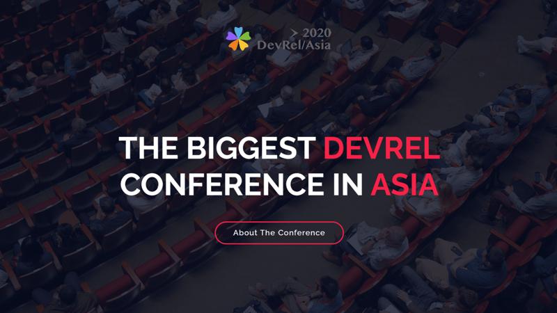 DevRel/Asia 2020 | 亚洲开发者关系大会