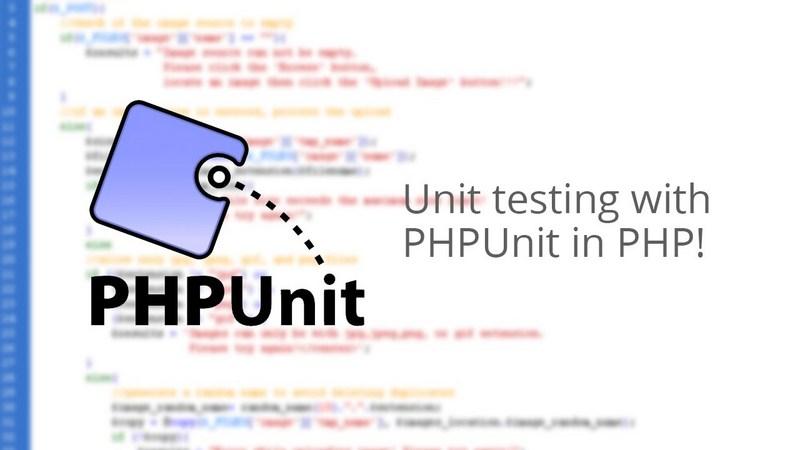 PHP单元测试与测试驱动开发
